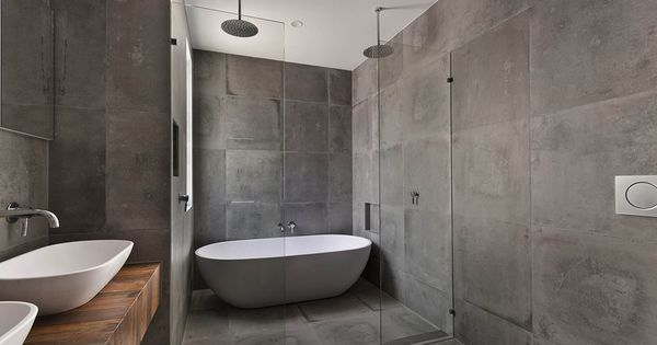 grote vierkante tegels badkamermuur google zoeken badkamer pinterest. Black Bedroom Furniture Sets. Home Design Ideas