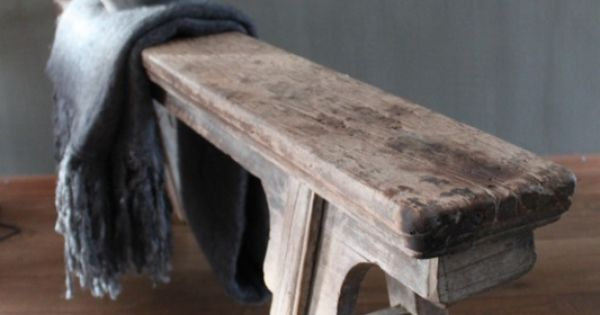 Oud chinees bankje accessoires en decoraties huis for Oud roze accessoires huis