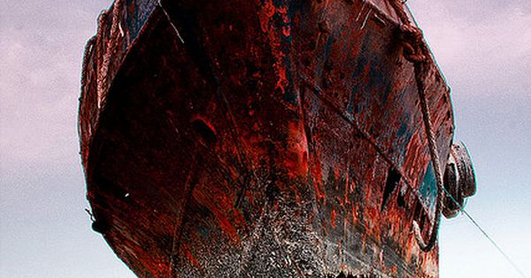 ♂ Aged with beauty; rustic abandoned old ship