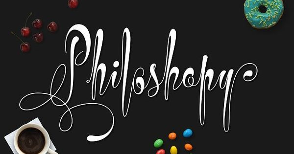 Philoshopy Script – Uppercase Portable Swashes! It nice just with basic character