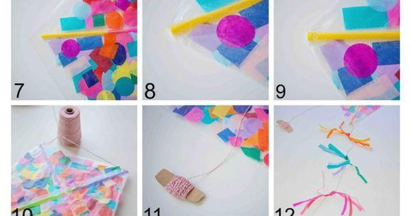 how to make paper confetti