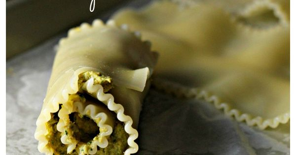 Pesto lasagna, Lasagna rolls and Lasagna on Pinterest