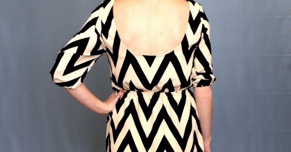 Chevrons Dress $48