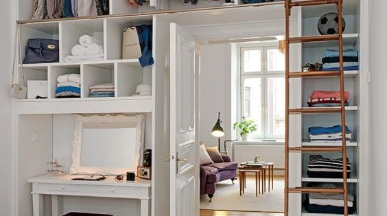 20 ideas para hacer un closet sin gastar invertir for Ideas para organizar armarios