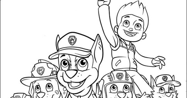 Paw Patrol Malvorlagen Kinder Pinterest Ausmalbilder