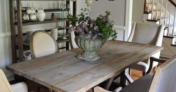 Dear Lillie: Our Updated Dining Room with a New Farmhouse Table and