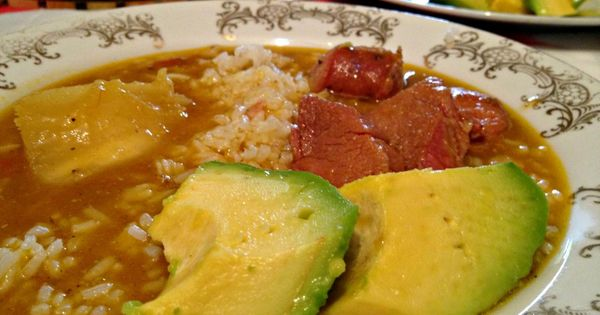 Dominican Sancocho, my Mom's recipe.