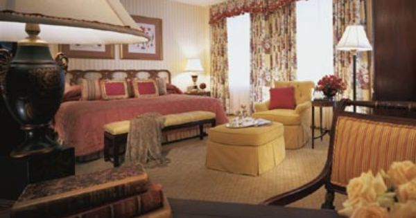 Deluxe King Room At The Fairmont Olympic Hotel Seattle Wa With