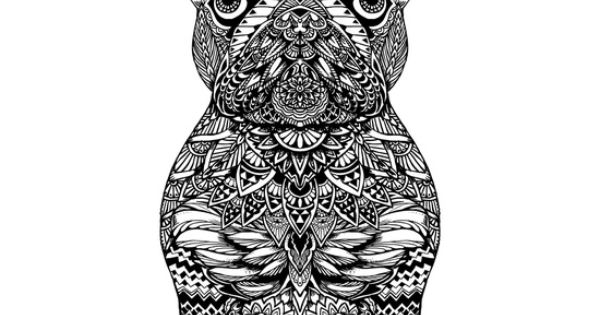 Mandala Frenchie Art Print | I L L U S T R A T I O N ...
