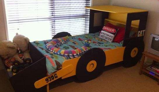 Habitaci n tem tica excavadora habitaciones tematicas - Habitaciones tematicas infantiles ...