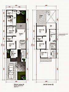 50 Contoh Gambar Denah Rumah Minimalis Denah Rumah Rumah Minimalis Rumah