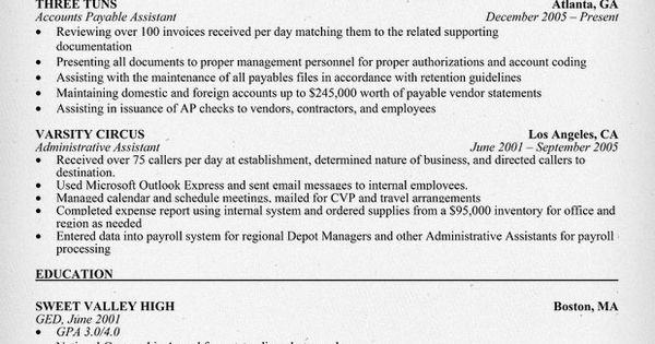 13 Accounts Payable Manager Resume Sample