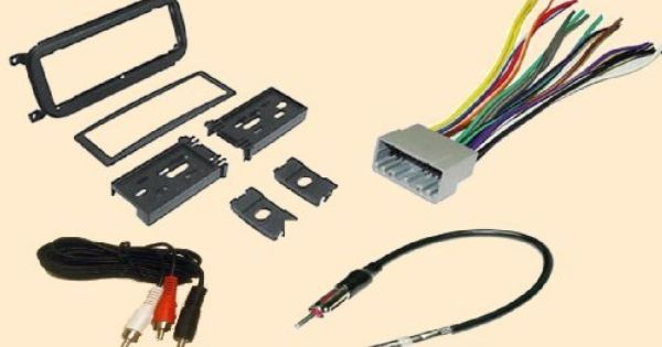 Radio Stereo Install Dash Kit + wire harness + antenna