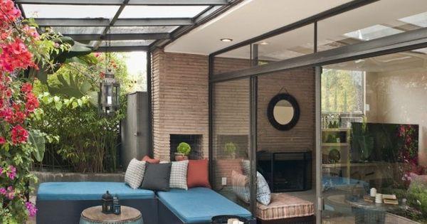 Am Nagement Terrasse Avec Auvent Bois Plexiglas Aluminium D Co Et Design