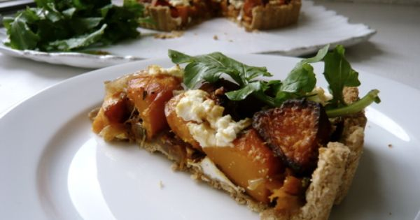 Goats cheese tart, Squashes and Onions on Pinterest