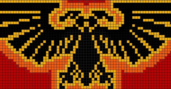 Warhammer 40k Imperial Aquila Pattern By Raven Arcana