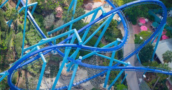 Sea World Theme Parks Rides Orlando Parks