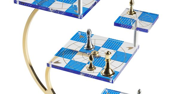 Star trek tridimensional chess set beautiful games pinterest the rules read more and - Tri dimensional chess board ...