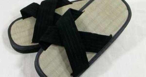 Zori Slippers Y Shape Sandals Shoes Kung Fu Martial Arts Tatami Mat Zorri Home
