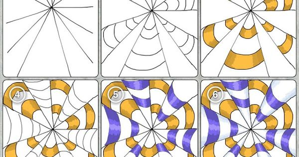 Op Art . It's in another language, but it has good step