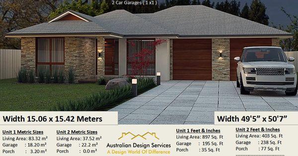 164 Du 4 Bed 164 0 M2 1770 Sq Foot Dual Key Preliminary House Plan Set House Plans Duplex Design Family House Plans