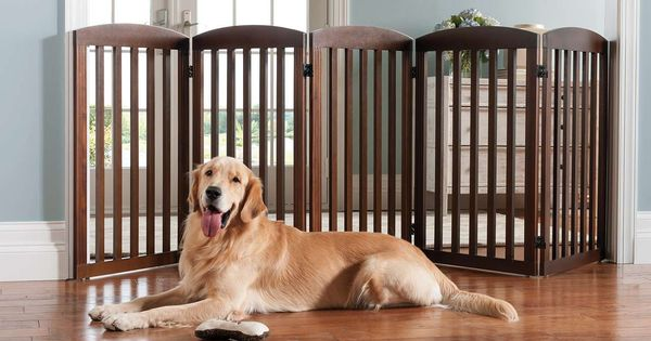 Freestanding Wooden Pet Gate Pet Gate Marshalls And Pets