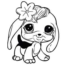 Littlest Pet Shop Coloring Pages For Kids Free Printables Dog Coloring Page Puppy Coloring Pages Animal Coloring Pages