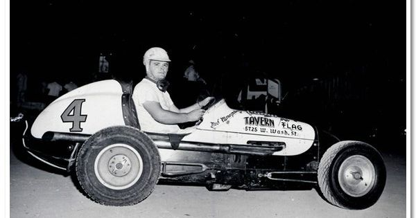 Bud sparks midget auto racing