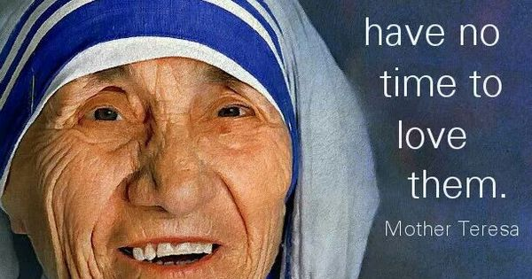 mother teresa essay for kids