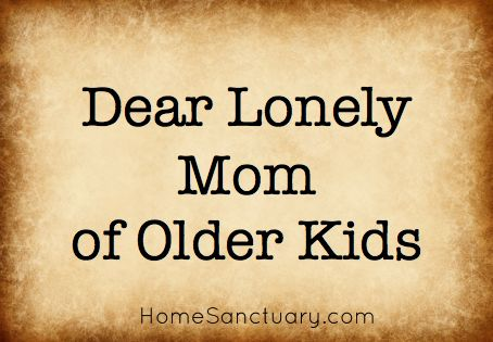 Dear single mom who feels alone