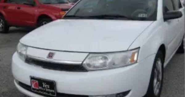 2003 Saturn Ion Saturn Car Saturn
