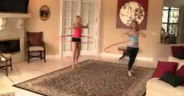 Hula Hoop Fitness Video: How to Get a Flat Stomach before ...