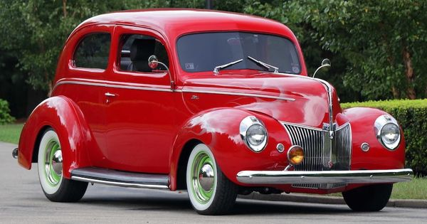 1940 Ford Standard Sedan Street Rod F17 Chicago 2018