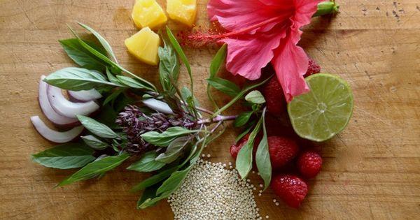 ... Quinoa Berry Salad With Shrimp | Recipe | Hibiscus, Shrimp and Berries