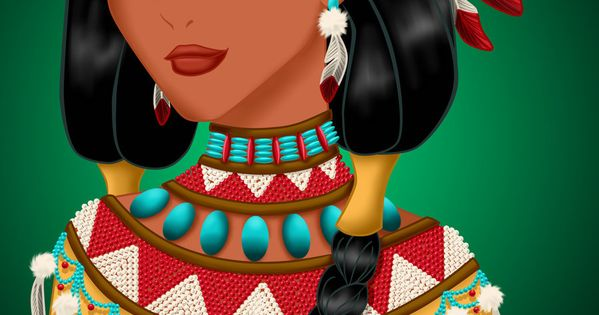 Royal Jewels: POCAHONTAS by ~MissMikopete on deviantART