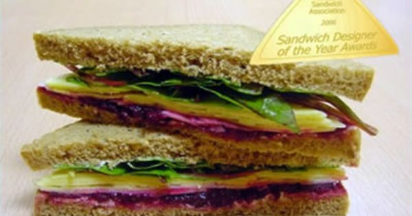 Laura Anthony's What the Butler Saw Cheddar & Beetroot Sandwich ...