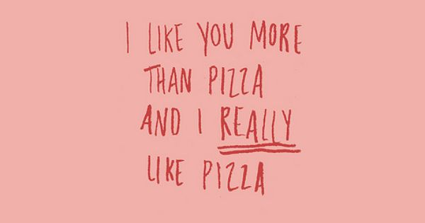 Don't worry pizza... you will always be my one true love. :)
