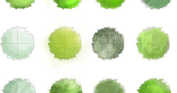 Landscape Trees - Plan by ~BoomyRui