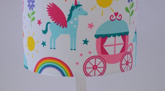 Unicorn D 233 Cor Unicorn Unicorn Lamp Shade Girls Bedroom