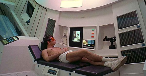 Gary lockwood in 2001 a space odyssey 1968 horray for for Bedroom 2001 space odyssey