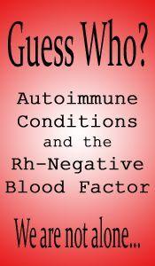 Blutgruppendiät bei negativer rh