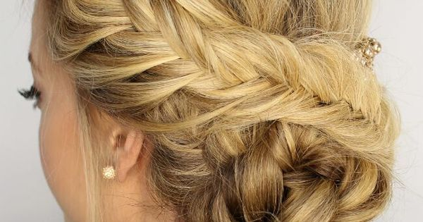 20 Exciting New Intricate Braid Updo Hairstyles