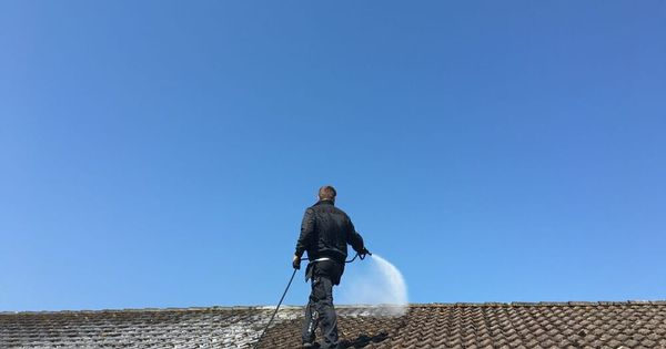 Roof Cleaning All Clean Soft Wash Tile Roof Cleaning Products In 2020 Cleaning Mold Roof Cleaning Roof