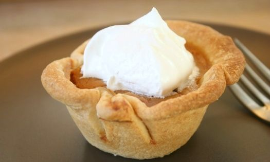 Mini Pumpkin Pies in a Muffin Tin | Make and Takes...my favorite