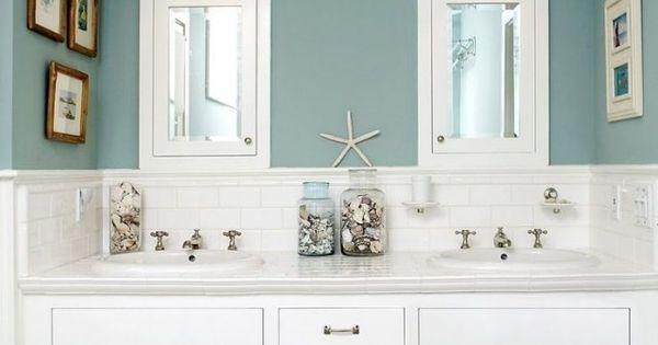 Décoration salle de bain - 26 belles idées en style nautique ...