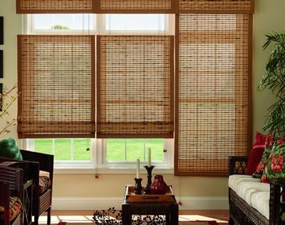 Homedepot Offers This Natural Woven Wood Shade For