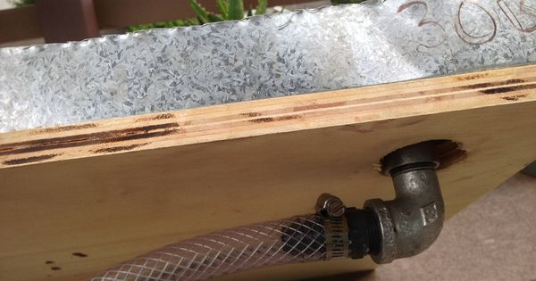 DIY porch potty - with drain | Moe the Dog | Pinterest | Toaletter ...