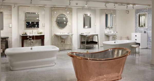 london showroom floor display waterworks showrooms pinterest