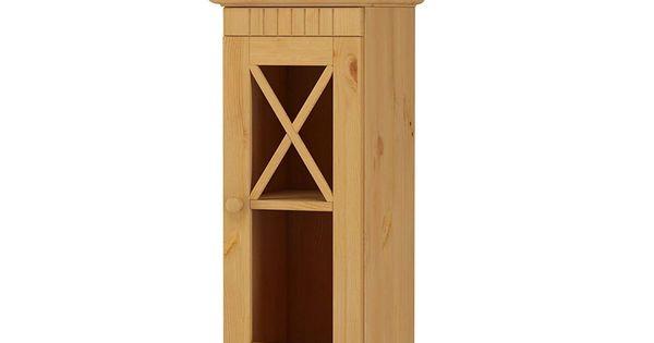 Loft24 Hangeschrank Badezimmer Kuche Oberschrank Kiefer Massivholz Wandschrank 1 Glastur Badmobel Landhaus Geolt In 2020 Oberschranke Schubladen Regal Schubladenregale