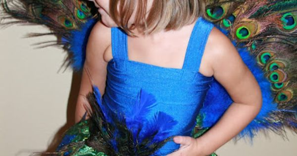 Sew Crafty Girl: peacock costume - love this tutu
